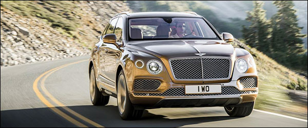 Autosalon Brussel 2016: Bentley Line-up