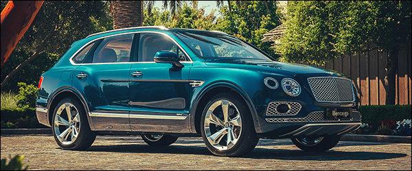 Belgische prijs Bentley Bentayga Hybrid (2019): vanaf 170.731 euro