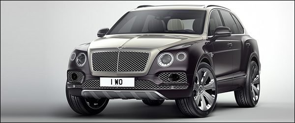 Officieel: Bentley Bentayga Mulliner SUV (2017)