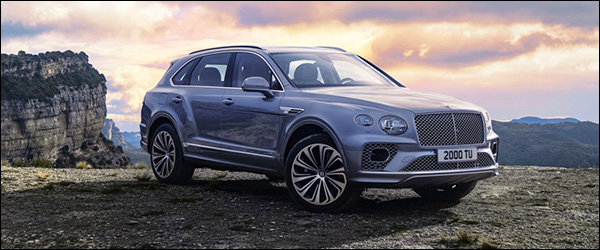 Officieel: Bentley Bentayga facelift (2020)