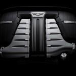 Bentley Continental GT Facelift motor W12 engine
