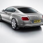 Bentley Continental GT Facelift achterkant rear