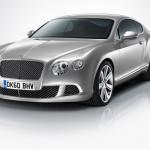 Bentley Continental GT Facelift voorkant front