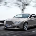Bentley Continental GT Facelift Parijs