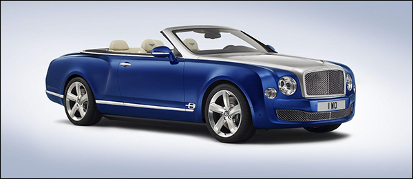 Officieel: Bentley Grand Convertible Concept [Mulsanne Cabrio]