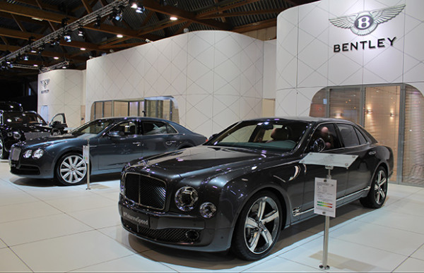 Autosalon Brussel 2016 Live - Bentley Mulsanne Speed