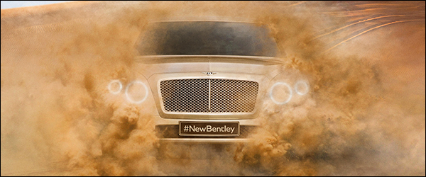 Preview: Bentley SUV komt in 2016