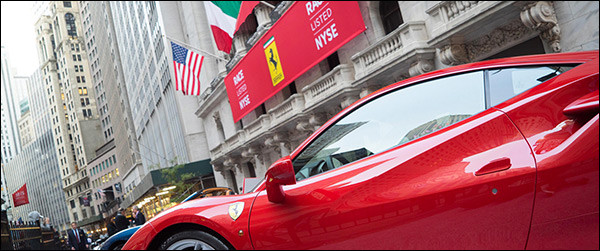 Beursgang Ferrari is een succes!