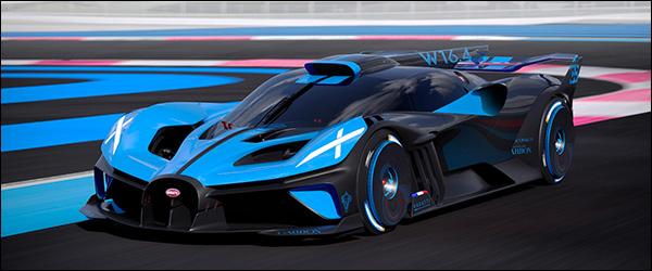 Officieel: Bugatti Bolide (2020)