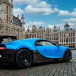 Bugatti Chiron Pur Sport bezoekt Brussel tijdens Europese roadshow (2020)