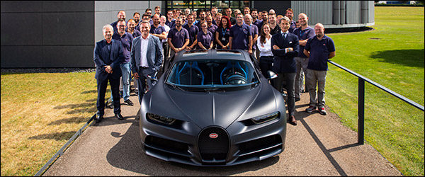 Bugatti Chiron nummer 200 is een feit