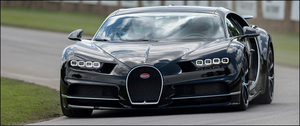 Bugatti Chiron wil graag het wereldrecord breken met 463 km/u!