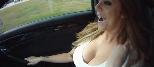 Cadillac CTS-V Video Babe