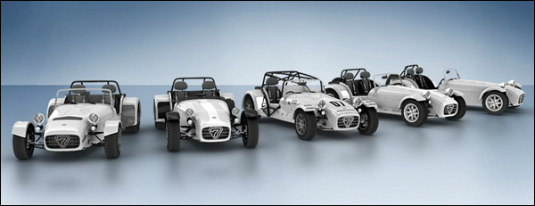 Caterham Expand Product Range