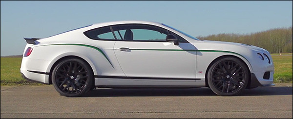 Video: Chris Harris test de Bentley Continental GT3 R