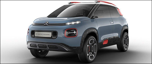 Officieel: Citroen C-Aircross Concept (2017)
