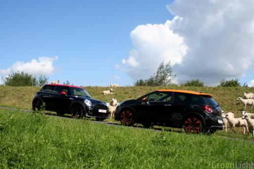 Citroen DS3 Racing vs MINI JCW