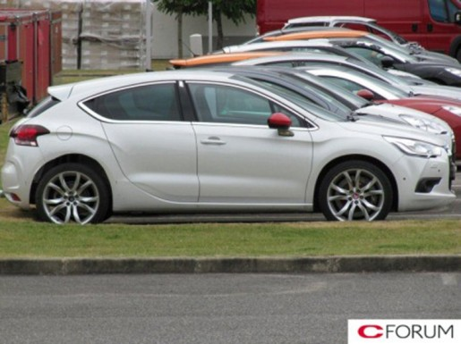 Citroen DS4 Racing Spy