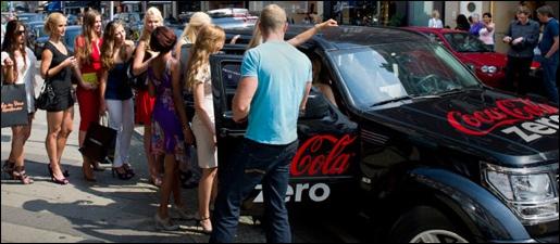 Coca Cola Zero Babes