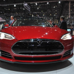 Autosalon Geneve 2013 - Tesla