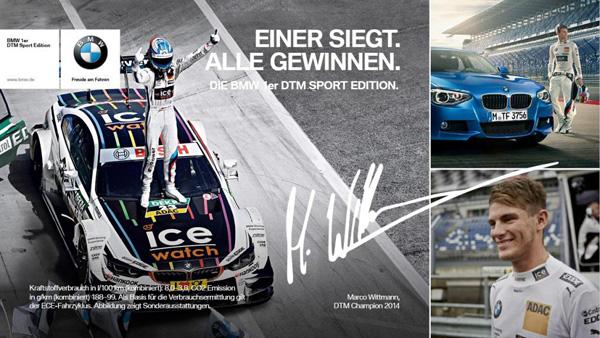 DTM 1-Reeks Marco Wittmann