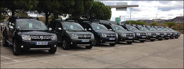 Dacia Duster rolt 1.000.000 maal van de band