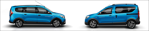 Officieel: Dacia Lodgy Stepway & Dokker Stepway