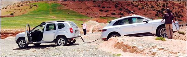 Dacia duster vs Porsche Macan