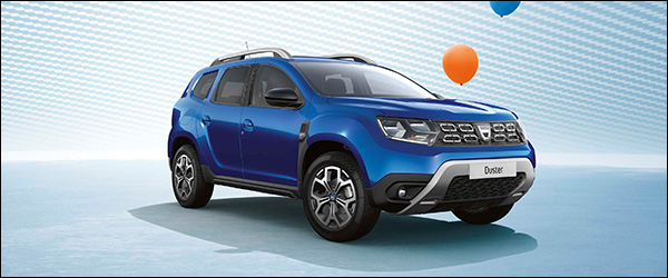 Officieel: Dacia Anniversary special edition - 15 Ans (2020)