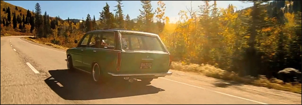 Datsun 510 Wagon Depth of Speed