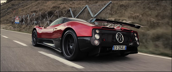 Video: Davide Cironi test de Pagani Zonda F (2020)