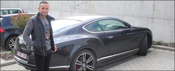 Demy de Zeeuw Bentley Contintental GT V8