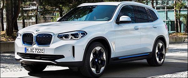 Dit is de zuiver elektrische BMW iX3!