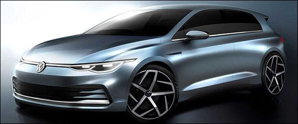 Dit is de nieuwe Volkswagen Golf (2020)