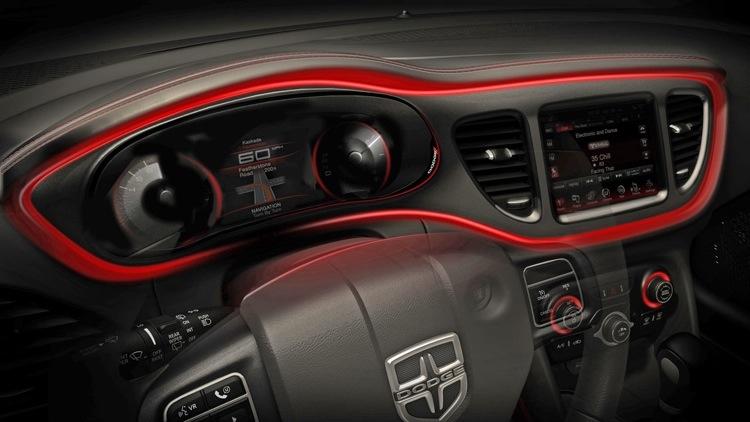 Dodge plaagt nu ook met interieur van dodge dart for Interieur van nu