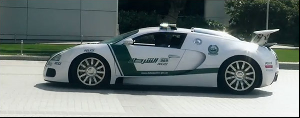 Video: Dubai Police bezit nu écht een Bugatti Veyron