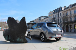 Duotest - Nissan Leaf vs Focus Electric 09