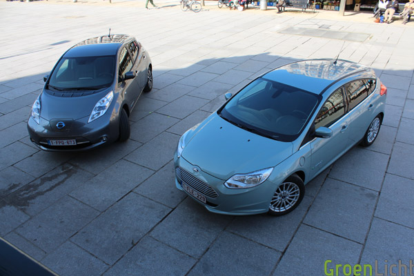 Duotest - Nissan Leaf vs Focus Electric 16