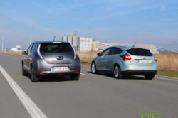 Duotest - Nissan Leaf vs Focus Electric 37