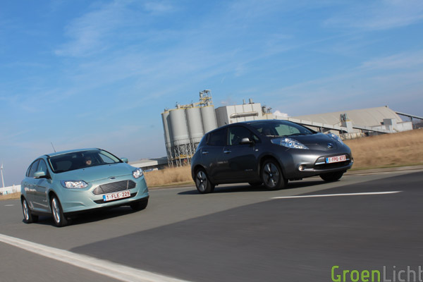 Duotest - Nissan Leaf vs Focus Electric 39
