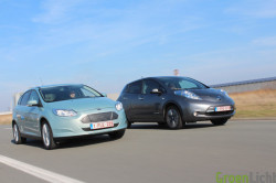 Duotest - Nissan Leaf vs Focus Electric 40