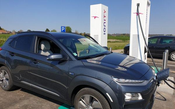 Eerste Belgische IONITY laadpalenen geopend