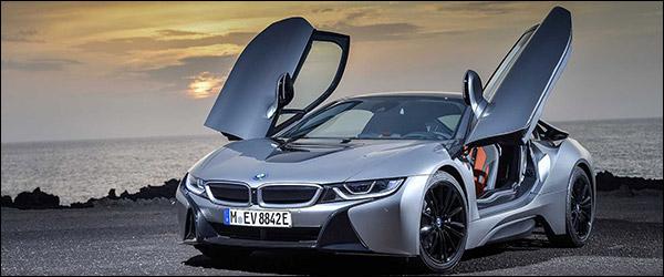 Einde nabij voor de BMW i8 (2020)