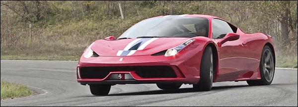 EVO test de Ferrari 458 Speciale