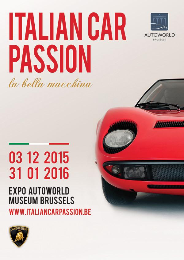 Uittip: Italian Car Passion - Autoworld - december 2015 - januari 2016