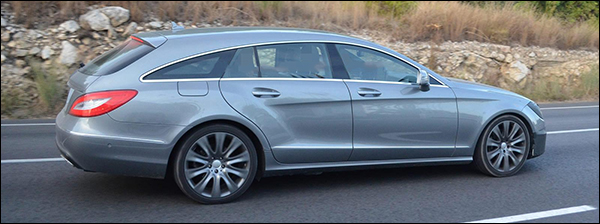 Facelift Mercedes CLS Shooting Brake