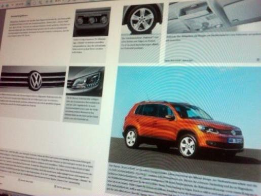 Facelift VW Tiguan gelekt