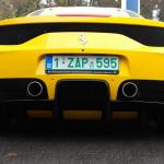 Eerste Belgische Ferrari 458 Speciale is geel