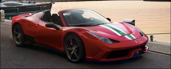 De Ferrari 458 Speciale Spider komt eraan!