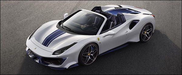 Officieel: Ferrari 488 Pista Spider (2018)